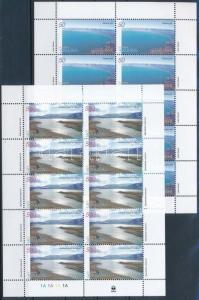 Armenia stamp Europa CEPT:Life-giving water mini sheet set 2001 MNH WS221355