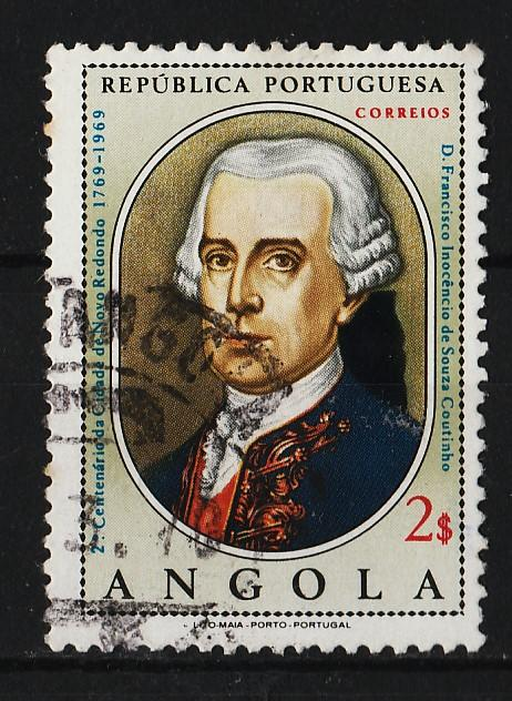 Angola 1969 2nd Cent of Founding of Novo Redondo (1/1) USED