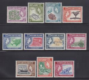 Pitcairn Is 20-30 VF-OG-LH set nice colors ! cv $ 64 ! see pic !