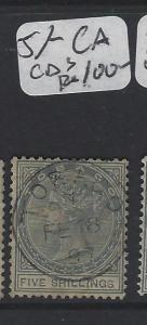 TOBAGO   (P2005B)  QV  5/-     CA  DCS    VFU