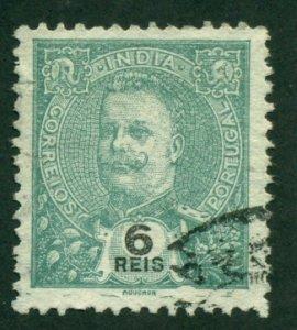 Portuguese India 1902 #205 U SCV (2018) = $0.25