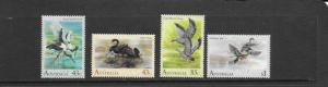 BIRDS - Australia #1203-1206  MNH