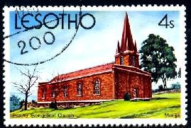 Lesotho Evangelical Church, Marija, Lesotho SC#314 used