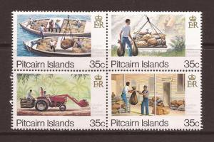 Pitcairn Islands scott #192a-d m/nh stock #F4999