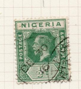 Nigeria 1914-29 Early Issue Fine Used 1/2d. 275574