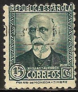 Spain 1931 Scott# 518 Used