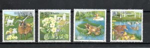 Isle of Man 734-737 MNH