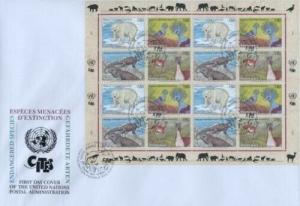 UN 1997 ENDANGERED SPECIES - GENEVA JUMBO