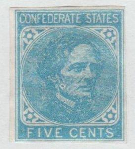 U.S.  Confederate States of America Scott #4 Jefferson Davis Stamp - Mint Single