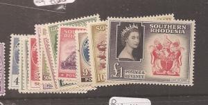 Southern Rhodesia 1953 SG 78-91 MOG (1axe)