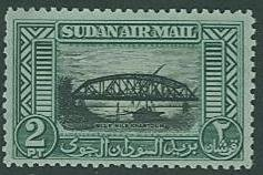 British Sudan SC# C35 Bridge 2p MH