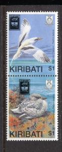 Kiribati 535a, MNH, Birds 1989 overprint. x29068