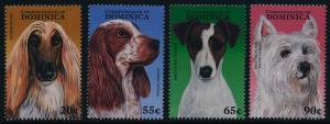 Dominica 1943-6 MNH Dogs
