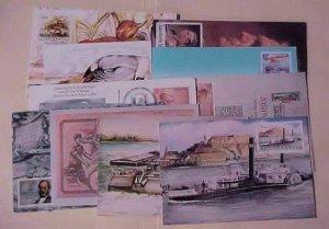 YUGOSLAVIA  18 DIFF. MAXI CARDS 1948-1990 UNADDRESSED