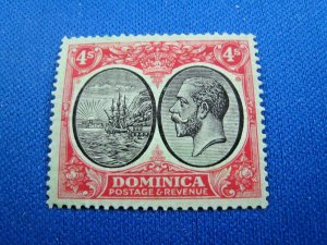 DOMINICA  1923  -  SCOTT # 81   MH     (Hd4)