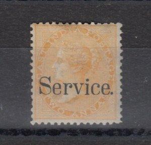 East India QV 2 Anna Service O/P SG63 MH J6396