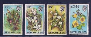 Seychelles 280-283 Mint VF NH
