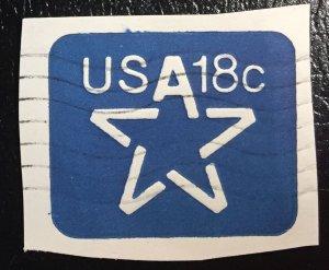 U593 Used Cutout - Blue Star 18c