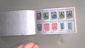 COLUMBIA COLLECTION IN APPROVAL BOOK, MINT/USED