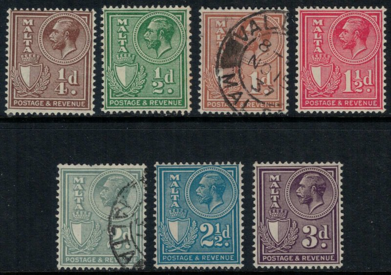 Malta #167-73*/u  CV $7.05