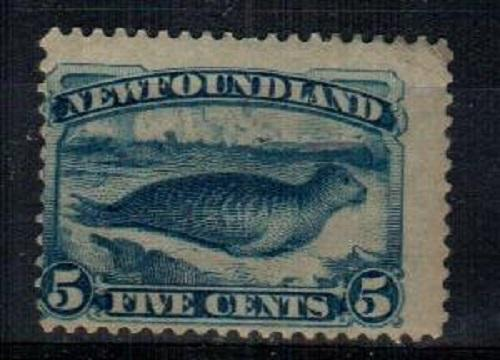 Newfoundland Scott 54 Mint hinged (Catalog Value $160.00)