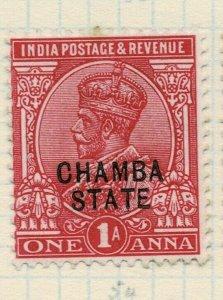 india chamba states- sg 45 -  lmm
