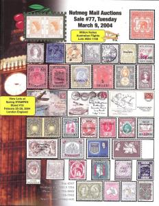 Nutmeg Stamp Sales - Great Britain and British Commonweal...
