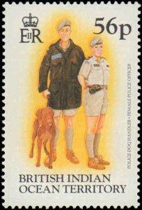 1996 British Indian Ocean Territory #185-188, Complete Set(4), Never Hinged