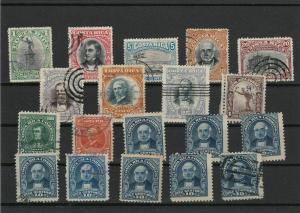 Costa Rica 1901-1930 Period Stamps Ref 28139