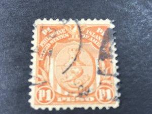 PHILIPPINES # 251-USED--SINGLE---1906(LOTA)