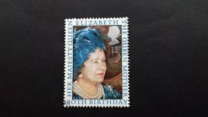 Great Britain 1980 The 80th Anniversary of the Birth of Queen Mother used