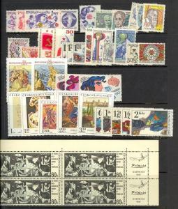 Czechoslovakia - small Mint NH collection (Catalog Value $32.40)