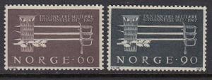 Norway 502-3 mnh