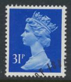 Great Britain SG X982 Sc# MH143    Used with first day cancel - Machin 31p
