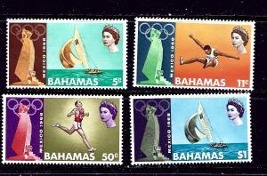 Bahamas 276-79 MLH 1968 Olympics