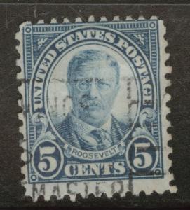 USA Scott 557 Used perf 11 stamp