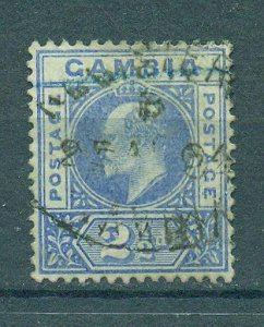 Gambia sc# 31 used cat value $20.00