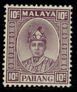 MALAYSIA - Pahang GV SG37, 10c dull purple, M MINT.