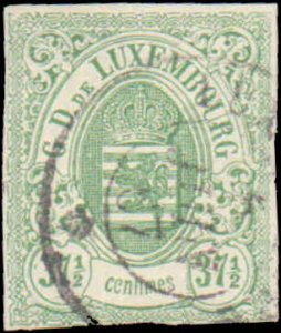 Luxembourg #11, Incomplete Set, 1859-1864, Used