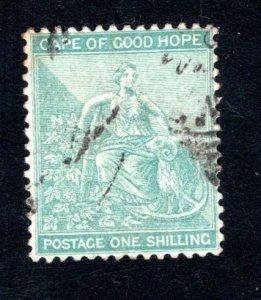 Cape of Good Hope Scott 51, F/VF, Used, CV $8.50 ..... 1190049