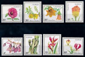 [64910] Rwanda 1982 Flora Flowers Blumen  MNH