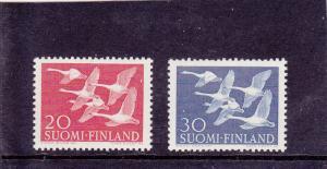 Finland  Scott#  343-4  MNH