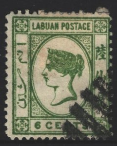 Labuan Sc#43 Used