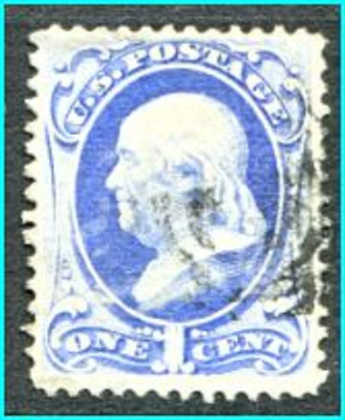 USA #145  VF used,       ** Free shipping **