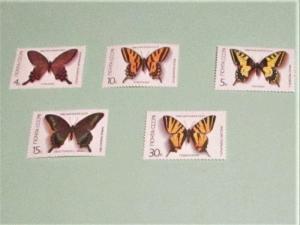 Russia - 5525-29, MNH Set. Butterflies. SCV - $1.85