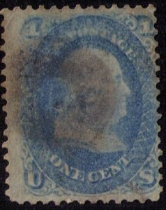 US Sc 63 Used Blue with anUltra Shade Fine