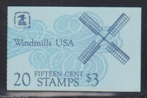 US #BK135 Booklet of 20 15c 1980 WINDMILLS Stamp - Unopened/Sealed