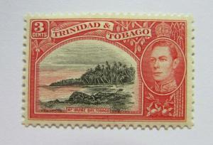 c1940 Trinidad & Tobago  SC #52  MT. IRVINE BAY MH stamp