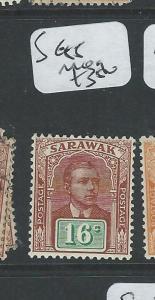 SARAWAK (P1401B) BROOKE 16C  SG 85   MOG