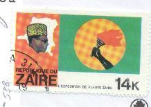 Zaire Sct # 906; used